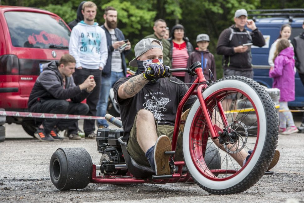 Drifttrike na Escape6 Prague Car Festival