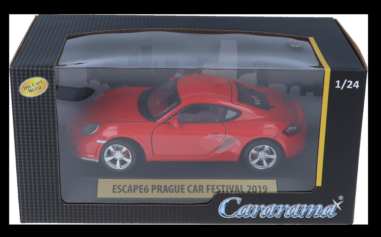 tombola Escape6 Prague Car Festival