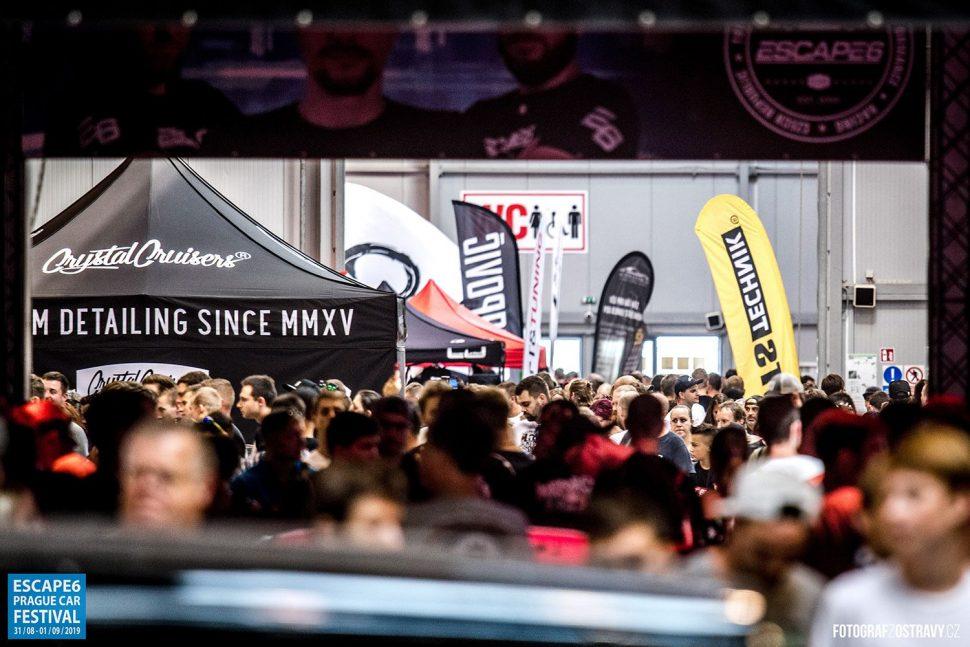 Ušetřete navstupenkách navýstavu Escape6 Prague Car Festival