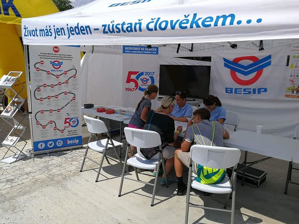 Besip Team naEscape6 Prague Car Festivalu